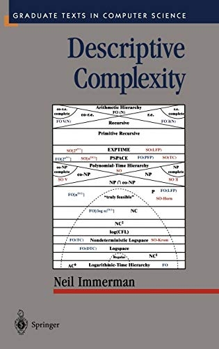 9780387986005: Descriptive Complexity (Texts in Computer Science)