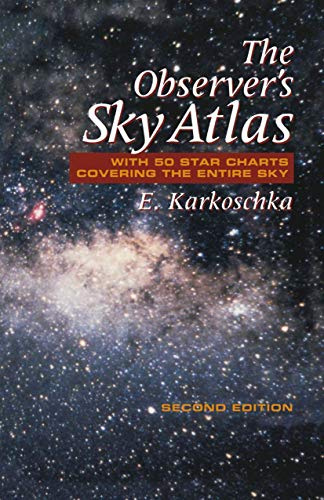 9780387986067: The Observer's Sky Atlas: With 50 Star Charts Covering the Entire Sky
