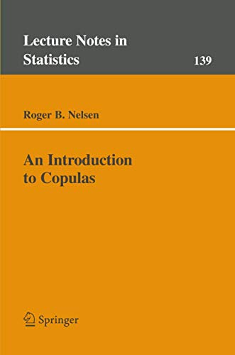 9780387986234: An Introduction to Copulas (Lecture Notes in Statistics)