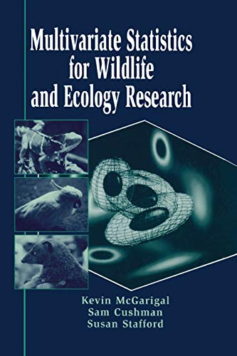 9780387986425: Multivariate Statistics for Wildlife and Ecology Research