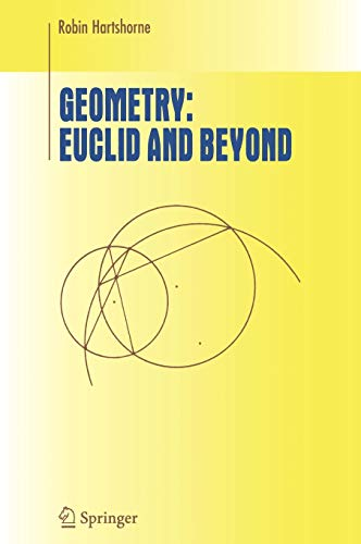 9780387986500: Geometry: Euclid and Beyond (Undergraduate Texts in Mathematics)