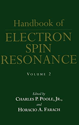 Handbook of Electron Spin Resonance: Charles P. Jr.