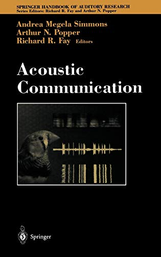 9780387986616: Acoustic Communication (Springer Handbook of Auditory Research)