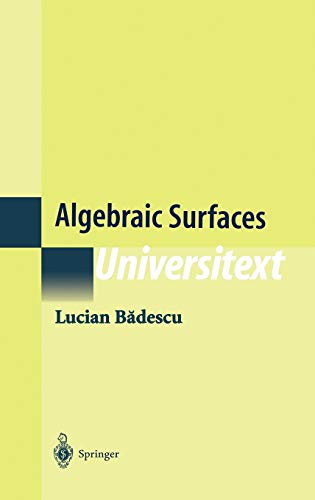 9780387986685: Algebraic Surfaces (Universitext)