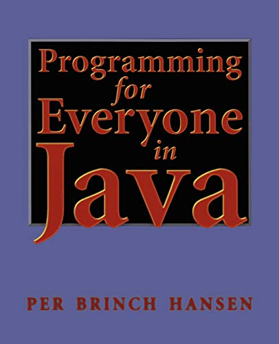 9780387986838: Programming for Everyone in Java