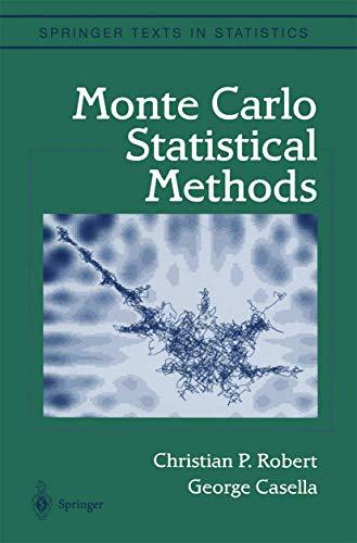 9780387987071: Monte Carlo Statistical Methods