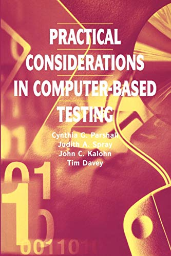 9780387987316: Practical Considerations in Computer-Based Testing (Statistics for Social and Behavioral Sciences)
