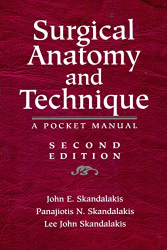 9780387987521 Surgical Anatomy And Technique A Pocket Manual