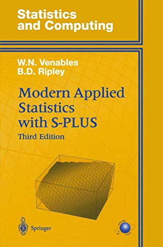9780387988252: Modern Applied Statistics with S-PLUS (Statistics and Computing) (v. 1)