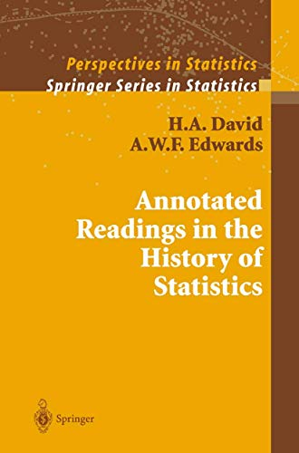 9780387988443: Annotated Readings in the History of Statistics (Springer Series in Statistics)