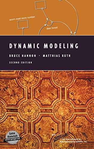 9780387988689: Dynamic Modeling (Modeling Dynamic Systems)