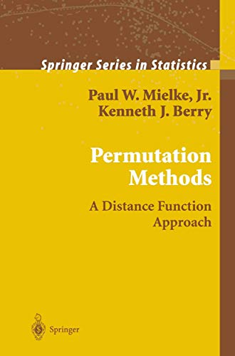 9780387988825: Permutation Methods: A Distance Function Approach (Springer Series in Statistics)