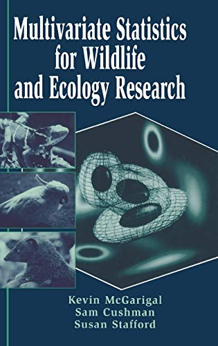 9780387988917: Multivariate Statistics for Wildlife and Ecology Research