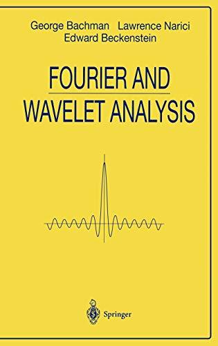 9780387988993: Fourier and Wavelet Analysis (Universitext)