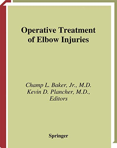 9780387989051: Operative Treatment of Elbow Injuries