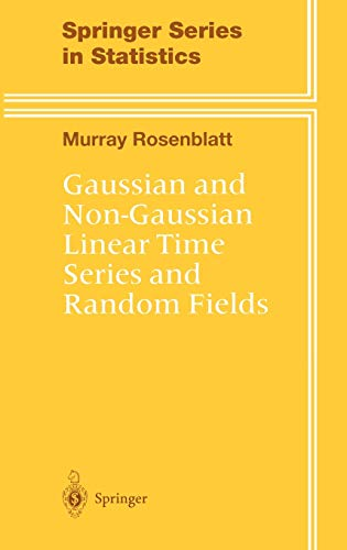 9780387989174: Gaussian and Non-Gaussian Linear Time Series and Random Fields