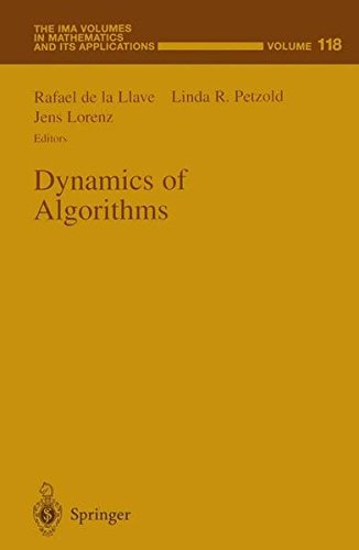 9780387989204: Dynamics of Algorithms (The IMA Volumes in Mathematics and its Applications)