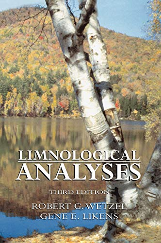 9780387989280: Limnological Analyses