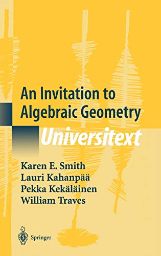 9780387989808: An Invitation to Algebraic Geometry (Universitext)