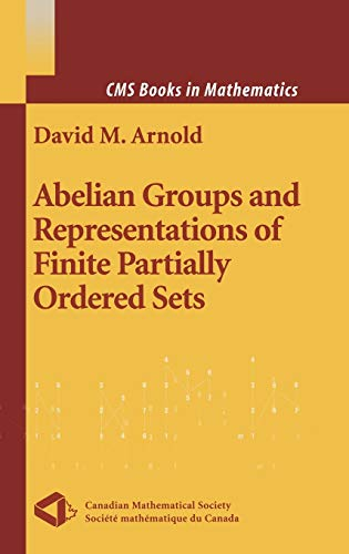 9780387989822: Abelian Groups and Representations of Finite Partially Ordered Sets (CMS Books in Mathematics)