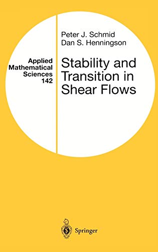 9780387989853: Stability and Transition in Shear Flows
