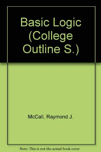 9780389000181: Basic Logic (College Outline S.)