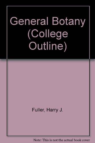 9780389000228: General Botany (College Outline)
