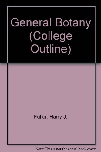 9780389000228: General Botany (College Outline)