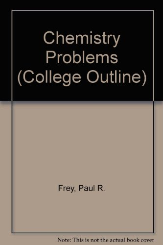9780389000327: Chemistry Problems (College Outline)