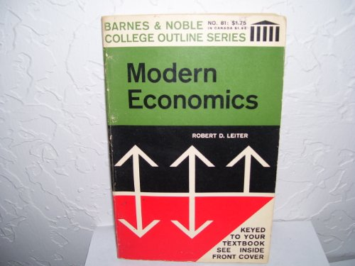 9780389000365: Modern Economics (College Outline)