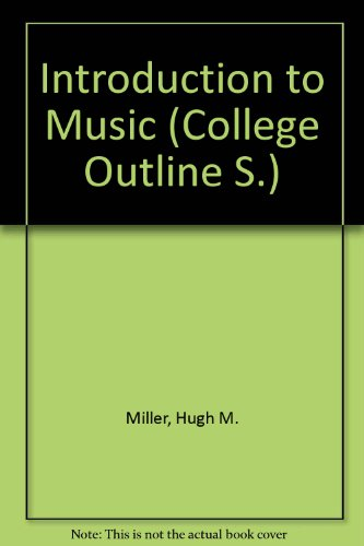 9780389000846: Introduction to Music (College Outline) - AbeBooks