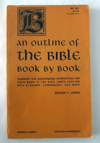 9780389002086: Outline of the Bible Book by Book