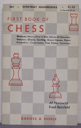 9780389002253: First Book of Chess