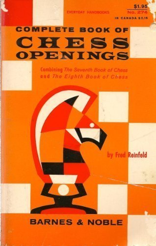 9780389002291: Complete Book of Chess Openings
