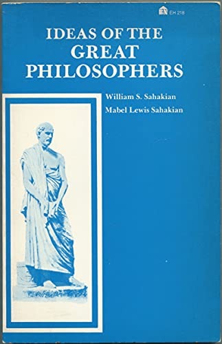 9780389002567: Ideas of the Great Philosophers (Everyday Handbooks)