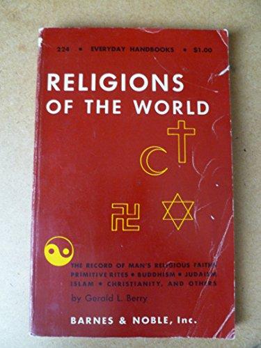 9780389002840: Religions of the World (Everyday Handbooks)