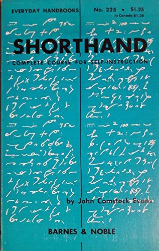 9780389002895: Shorthand (Everyday Hbks.)