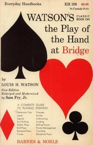 9780389003069: Play of the Hand at Bridge (Everyday Handbooks) by Watson, L.H.