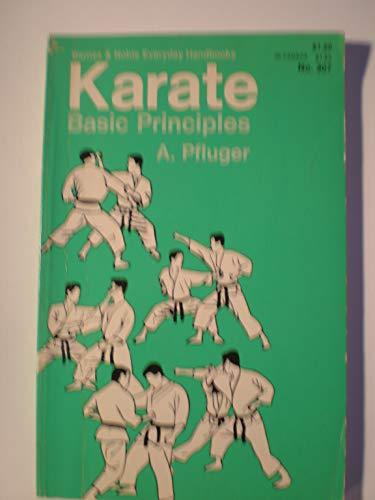 9780389003137: Karate: basic principles (Barnes & Noble everyday handbooks, no. 307)