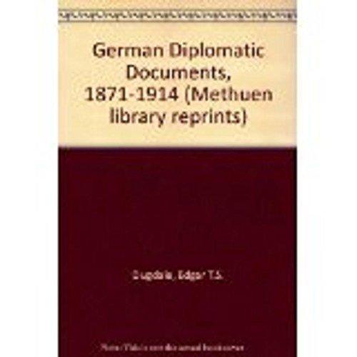 German diplomatic documents, 1871-1914: Germany