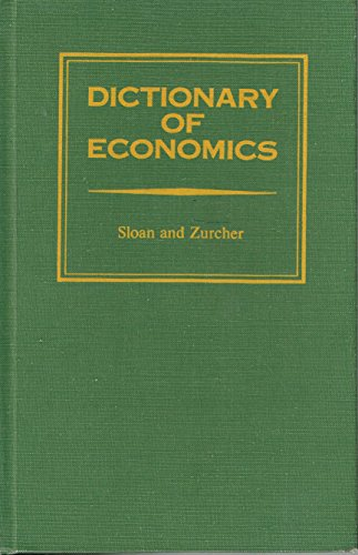 Dictionary of economics: Harold S Sloan