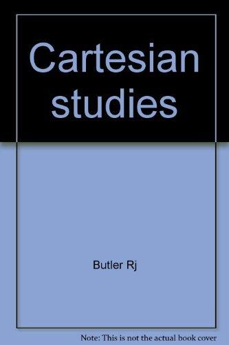 Cartesian Studies: Butler, R J.,