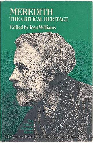Meredith. The Critical Heritage: Williams, Ioan, ed.