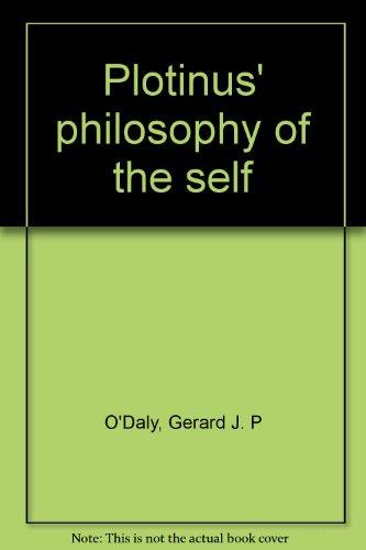 9780389042099: Plotinus' philosophy of the self
