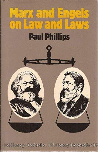 9780389201205: Marx and Engels on Law and Laws