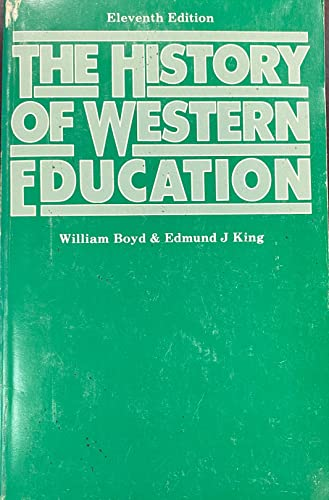 9780389201311: The History of Western Education