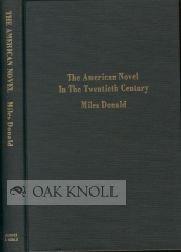 9780389201335: The American novel in the twentieth century (Comparative literature)