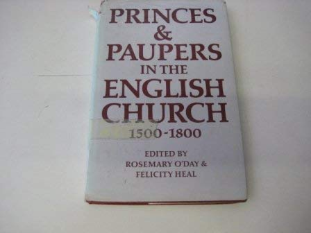 Princes & Paupers in the English Church,: n/a