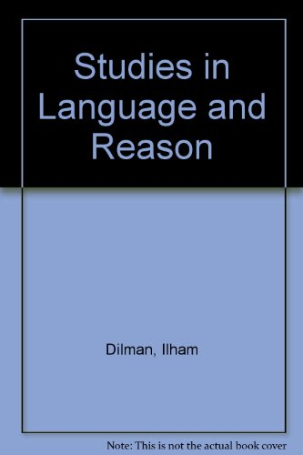 9780389202295: Studies in Language and Reason