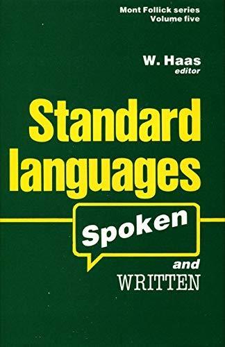 9780389202912: Standard Languages: Spoken and Written